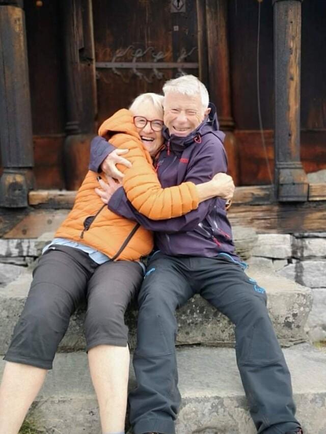 Ruth Wathne (68) og Nils Johan Baardsen (72).