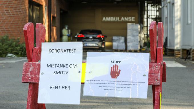Mellom 200 og 250 personer har blitt testet for korona på de travleste dagene ved legevakten i Askim.