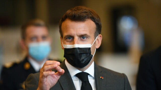 Emmanuel Macron har uttalt seg positiv til åpning av vaksinepatent
