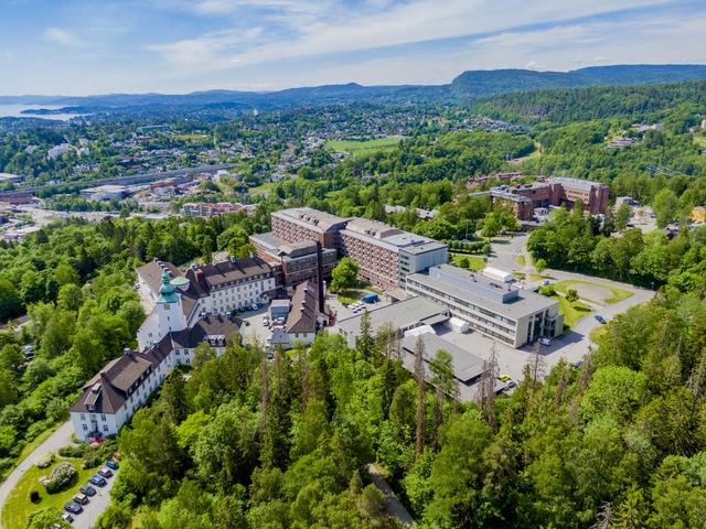 Bærum sykehus er blant sykehusene som ikke har noen koronapasienter for øyeblikket. Foto: Stian Lysberg Solum / NTB