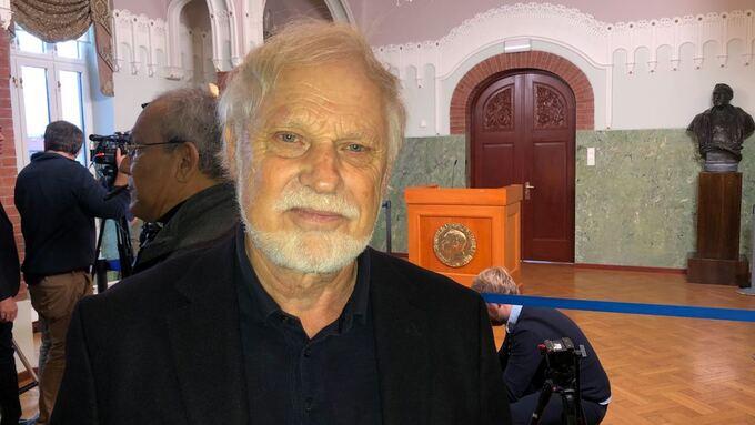 Nobelhistoriker Asle Sveen.
