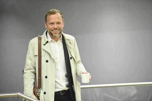 Partileder Audun Lysbakken i SV mener lønnsutviklingen i staten er spinnvill. Foto: Annika Byrde / NTB