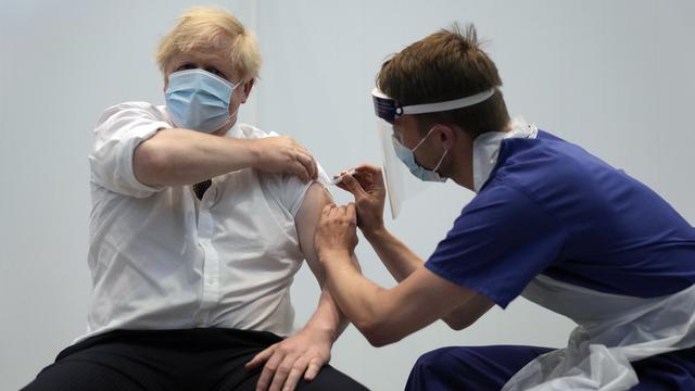 Britenes statsminister Boris Johnson fikk sin andre vaksinedose 3. juni.