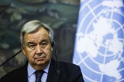FNs generalsekretær António Guterres advarer mot at konflikten mellom Israel og Gaza kan spre seg i hele regionen. Foto: Maxim Shemetov / AP / NTB