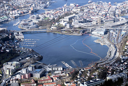 33 nye smittetilfeller i Bergen er en økning på åtte tilfeller fra dagen før. Foto: Marit Hommedal / NTB