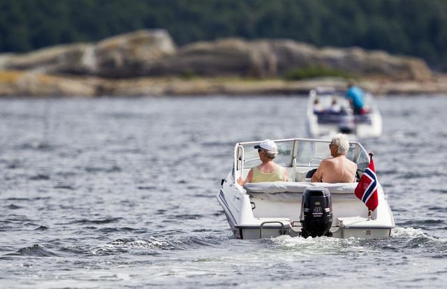 Antall båttyverier i sommer gikk ned 45 prosent i sommermånedene juni, juli og august i år, sammenlignet med samme periode i fjor. Foto: Vegard Grøtt / Scanpix