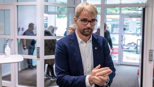 Byrådsleiar Roger Valhammer (Ap).