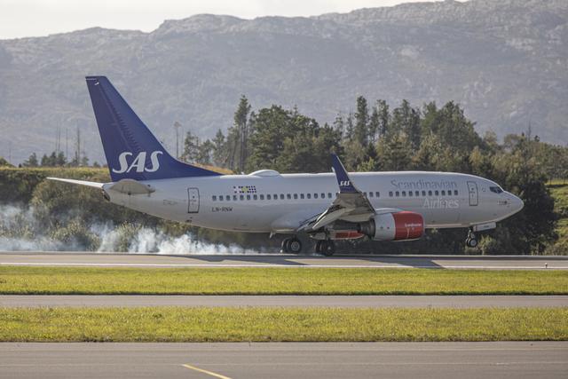 Det er påvist koronasmitte på fleire flyavgongar til og frå Bergen siste veka.