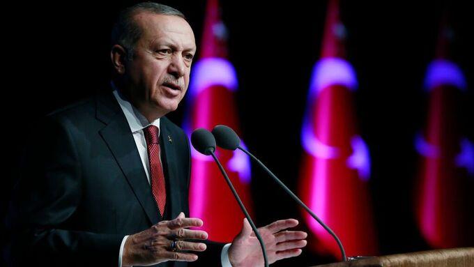 President Recep Tayyip Erdogan kommenterer for første gang brevet han fikk fra Donald Trump.