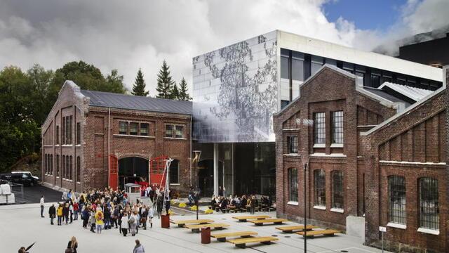 Høyskolen på Vestlandet campus Bergen.