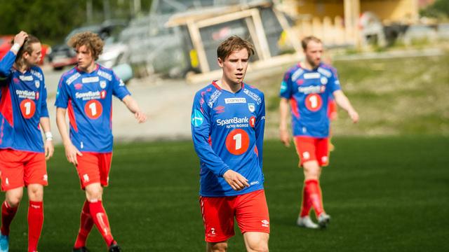 TAPTE: Martin Albertsen og TUIL gikk på tap mot Fredrikstad