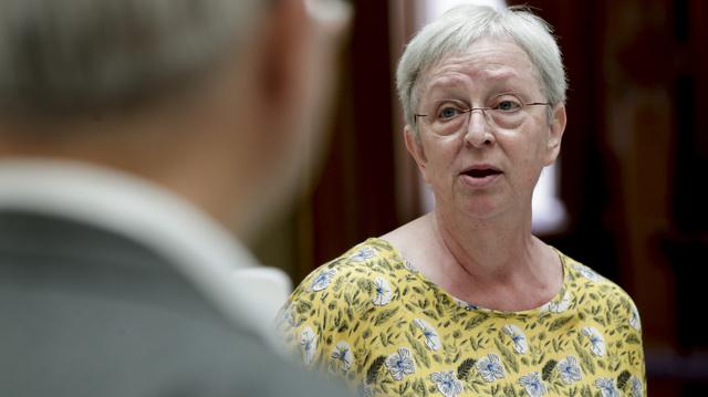 – Jeg mener partiet må si at vi må akseptere den loven som er i dag, sier Torhild Bransdal (KrF) til Vårt Land.