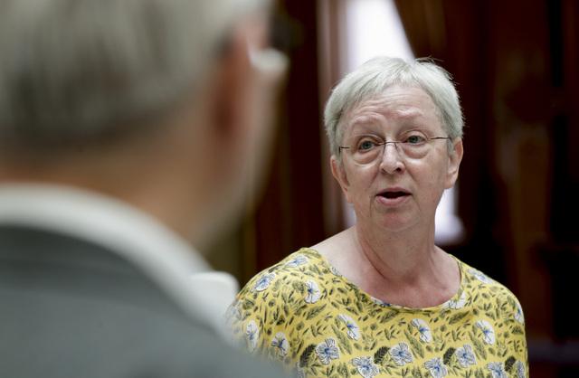 Torhild Bransdal (KrF) valgte borgerlig side i partiets veivalg i 2018. I tillegg til å påpeke at partiet mistet folk der, sier hun at KrF ser ut til å tape terreng i en norsk kirke som er blitt mer radikal. Foto: Vidar Ruud / NTB