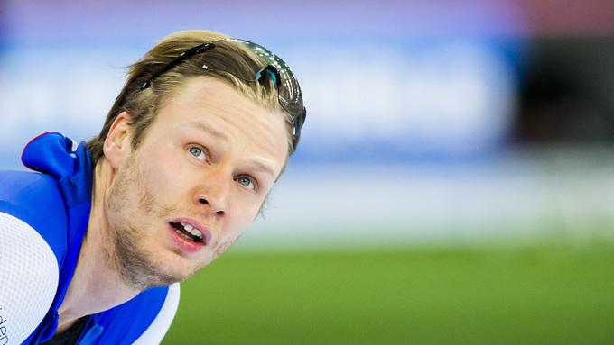 Skøyteløper Håvard Holmefjord Lorentzen har trolig vært smittet av koronaviruset.