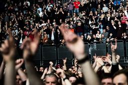 Mange lengter etter å dra på konsert uten å tenke på koronarestriksjoner. Bildet er fra Green Day-konserten i Oslo Spektrum i 2017. Foto: Jon Olav Nesvold / NTB