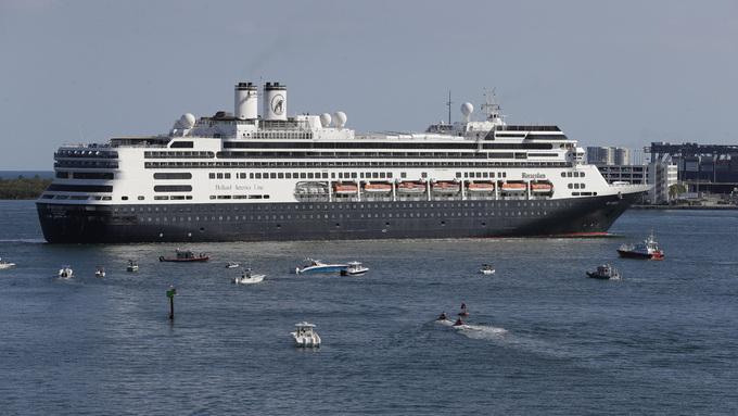 Cruiseskipet Rotterdam.