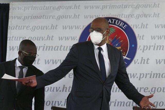 Valget i Haiti blir utsatt på ubestemt tid, sier statsminister Ariel Henry. Foto: Joseph Odelyn / AP / NTB