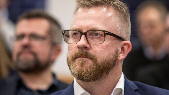 Hans-Erik Skjæggerud er 1. nestleder i YS.