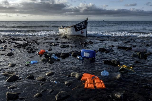 De første åtte månedene av året døde 785 migranter i forsøket på å nå Kanariøyene. Arkivfoto: Javier Bauluz / AP / NTB