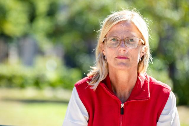 Dagens unge vil i langt større grad merke klimaendringene enn sine besteforeldre, ifølge generalsekretær Birgitte Lange i Redd Barna fra oktober 2018.  Foto: Audun Braastad / NTB