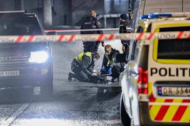 En person ble skutt på Stovner mandag kveld.