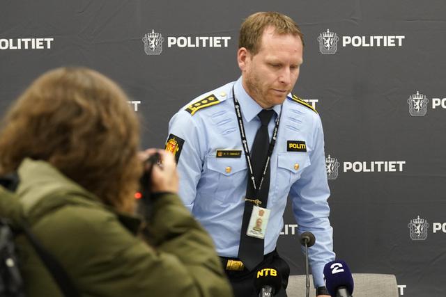 Politiinspektør Per Thomas Omholdt.
