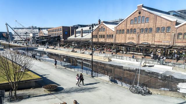 Det var på Solsiden i Trondheim at knivstikkingen skjedde i juli 2020. Foto: Gorm Kallestad / NTB