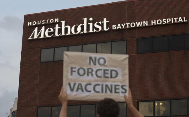Ansatte ved Houston Methodist nektet å la seg vaksinere mot koronavirus og leverte søksmål. Søksmålet ble avvist tidligere denne måneden.