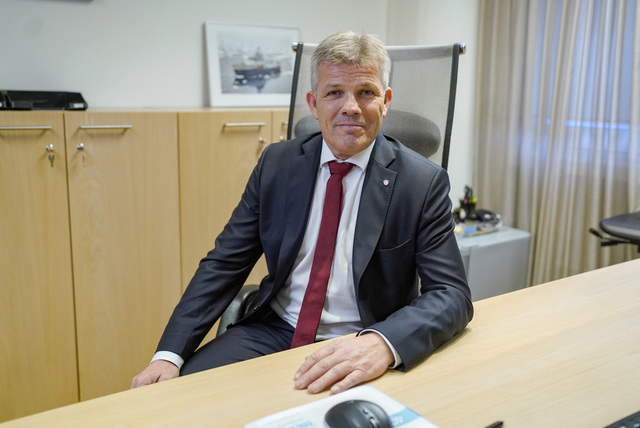 Fiskeri- og havminister Bjørnar Skjæran (Ap). Foto: Fredrik Hagen / NTB