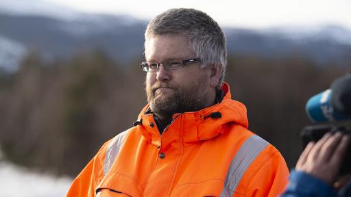 Paul Christen Røhr, sikringsteknisk fagansvarlig i NVE, håper en endelig evakueringslinje er på plass i slutten av januar eller tidlig februar.