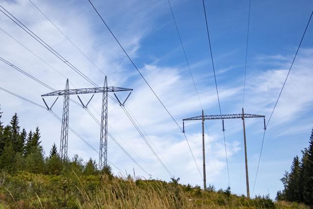 Prisforskjellen på strøm økte mellom Sør-Norge og Midt- og Nord-Norge i forrige uke. Foto: Paul Kleiven / NTB