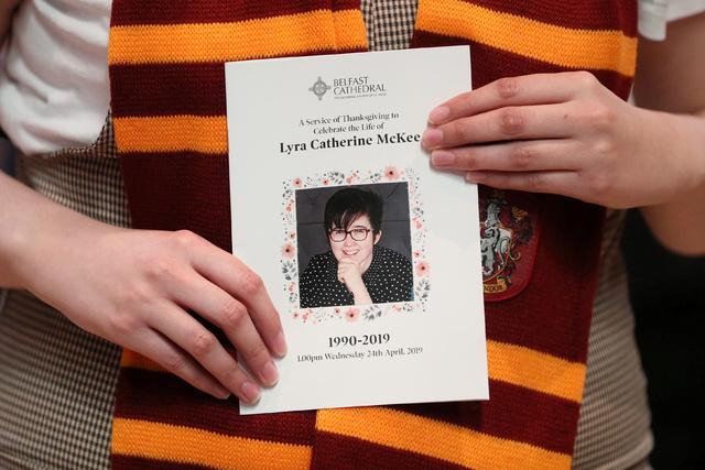 Lyra McKee ble skutt og drept da hun dekket opptøyer i Derry i 2019.