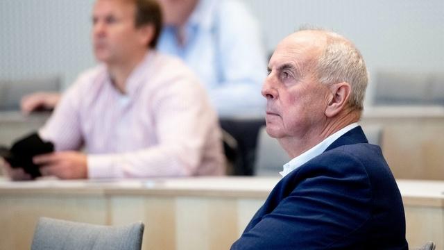 Sandnes-ordfører Stanley Wirak under rådmannens framlegging av budsjettforslaget i Sandnes rådhus fredag.