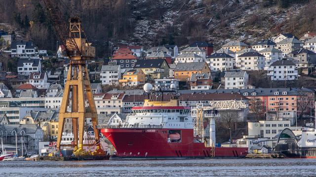 Skipet «Polar Queen» er ett av to subsea-skip GC Rieber Shipping eier.