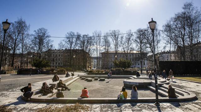 Her på Grünerløkka ble det registrert elleve nye smittede i Oslo det siste døgne.