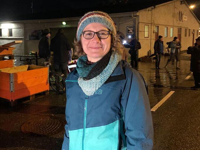 UROA: Sjølv om Kristin Richter synes det var spennande å følgje med på floa, er ho uroa for at dette skal skje oftare i framtida
