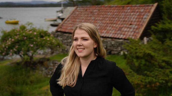 Alver-ordfører Sara Hamre Sekkingstad (Sp) og kommunestyret i Alver ønsker ikke vindkraftanlegg i fjellene i Nordhordland.