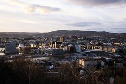 Utsikt over Oslo fra Ekeberg. Foto: Fredrik Hagen / NTB