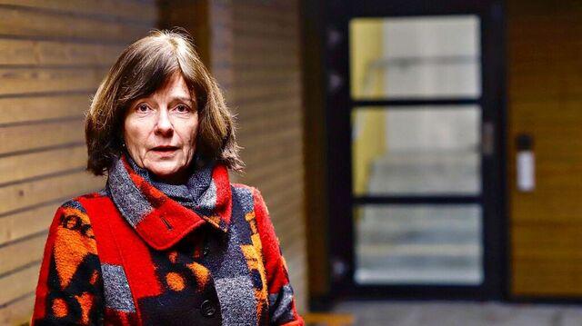Dagleg leiar Janneke Eide ved Slettebakken meninghets eldresenter.