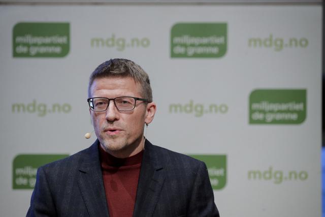 Ørjan Jensen, MDGs ene ordfører. Foto: Vidar Ruud / NTB