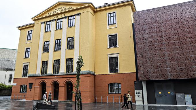 TRUET: Den internasjonale linjen ved Bergen Katedralskole foreslås nedlagt.