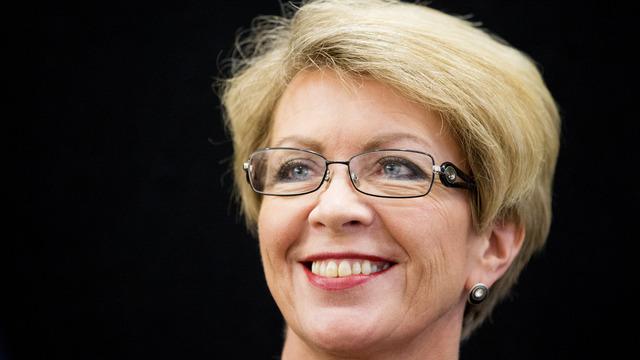 Åslaug Haga begynner som sjef for vindkraftbransjens interesseorganisasjon Norwea.