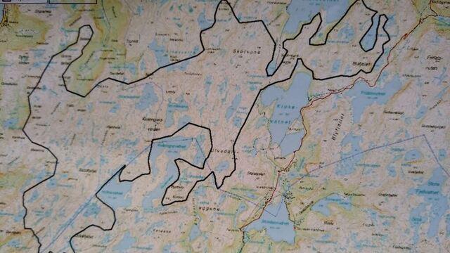 Slik presenterer Eolus Vind planområdet for vindkraftverket de vurderer i områdene vest for Stordalen og fylkesvei 381 mellom Matre og Bjordal.