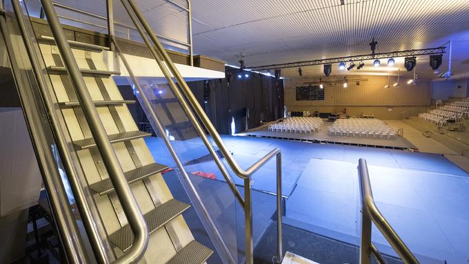 SENTRALBADET: Bergen kommune vil heve taket med 3,5 meter.