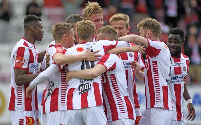 JUBEL: TIL jubler for utlikning hjemme mot Lillestrøm.