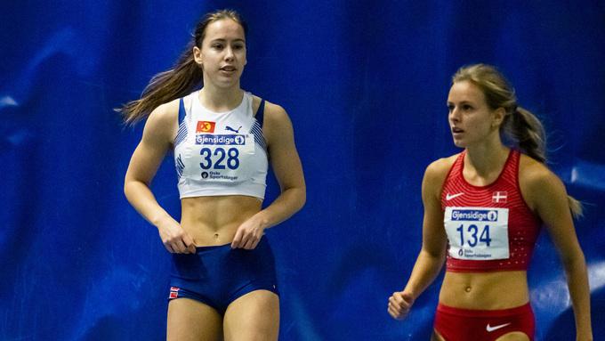 NY PERS: Martine Hjørnevik (18), Norna-Salhus, er klar for finale i U20 EM etter at hun satte ny pers på 100 meter hekk.
