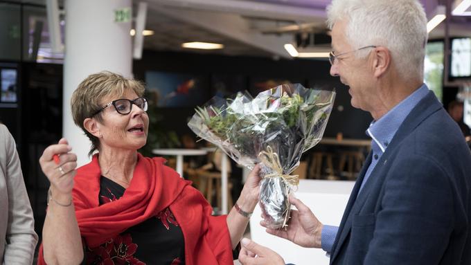 HAR FÅTT PLASS: Både Anne Gine Hestetun (Ap) og Jon Askeland (Sp) har fått plass i fylkestinget.