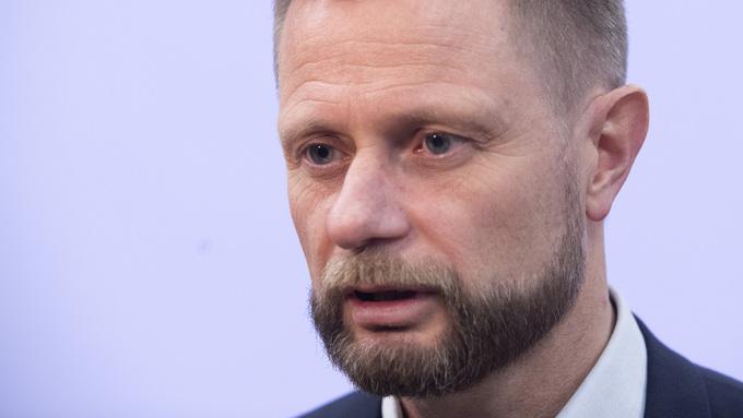 STATSRÅD: Helseminister Bent Høie.