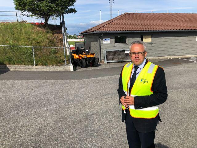 Ordfører Tom Georg Indrevik i Øygarden kommune.