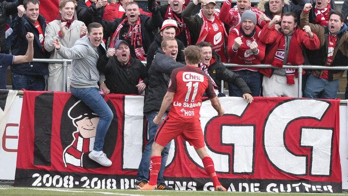 248af600 BORTESEIER: Det var en stor kveld for både Brann-fansen og Steffen Lie  Skålevik